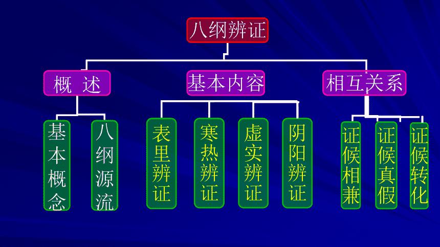 中医八纲辨证(二)