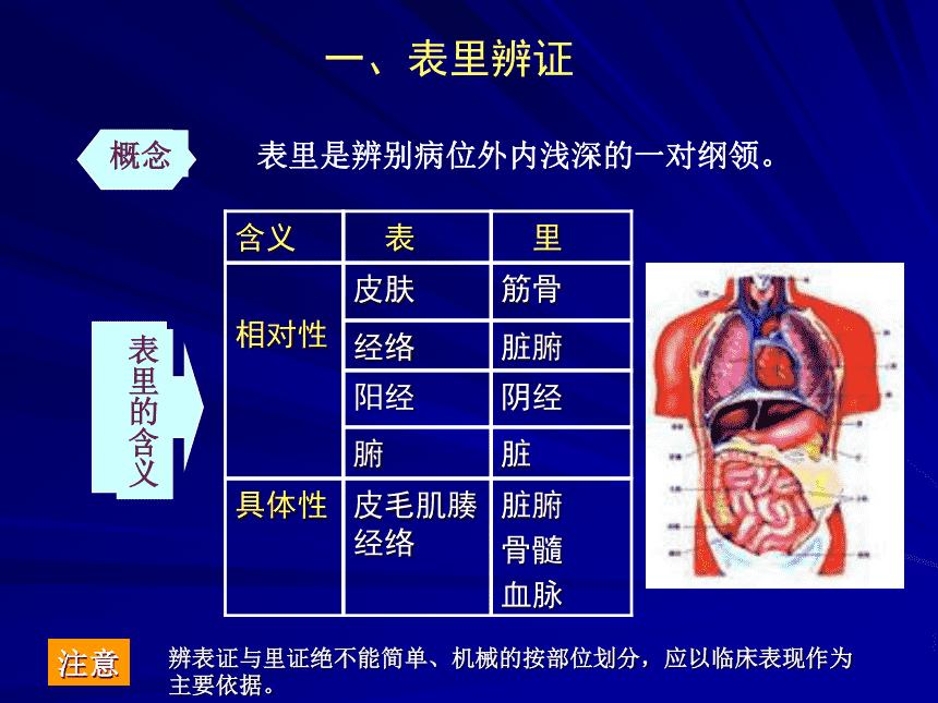 中医八纲辨证(三)